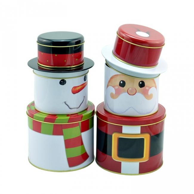 圣诞礼品铁罐——东莞铁罐厂
