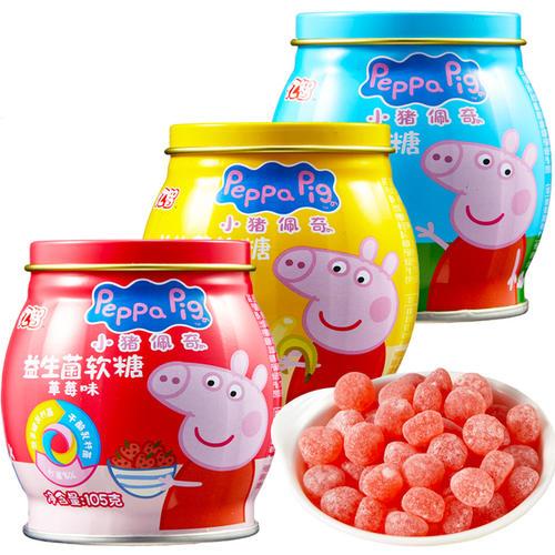 Cartoon packaging peppa pig can