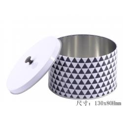 圆形礼品罐