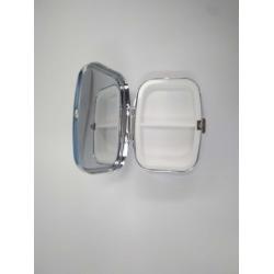 假睫毛化妆盒电镀铁盒
