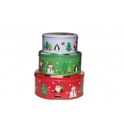 圣诞铁罐包装制定
