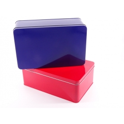 stationery tin box