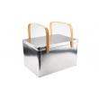 竹制提手铁盒