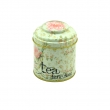 Tinplate tea round tin can