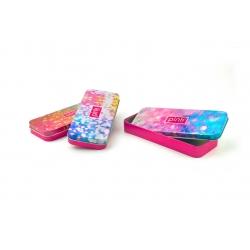 Tin rectangular gift tin can